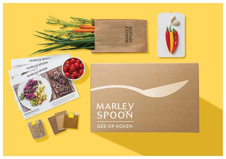 Marley Spoon box