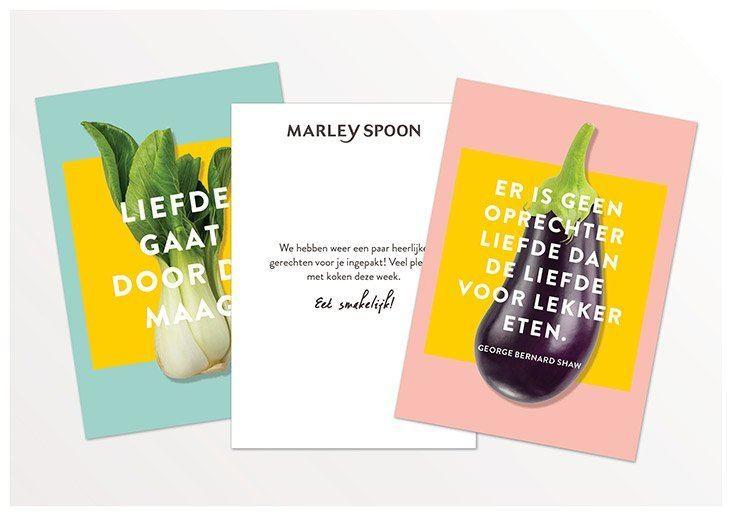 Marley Spoon recepten